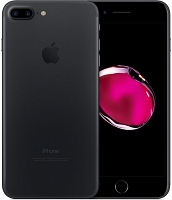 "Apple iPhone 7 Plus 128GB Black 5.5"" Retina HD, 12MP, A10 M10, FV23%"