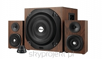 Vigor 2.1 Subwoofer Speaker Set - brown