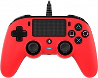 Nacon COMPACT Controller do PS4 PC Pad Czerwony - FVAT 23%