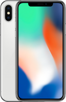 "NOWY Apple iPhone X 64GB Srebrny 5.8"" Super Retina HD, 12MP, A11 M11, FV23%"