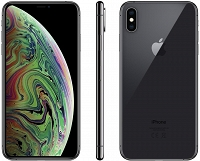 "Apple iPhone Xs Max 64GB Gwiezdna Szarość 6.5"" Super Retina HD, 12MP, A12 Bionic, FV23%"