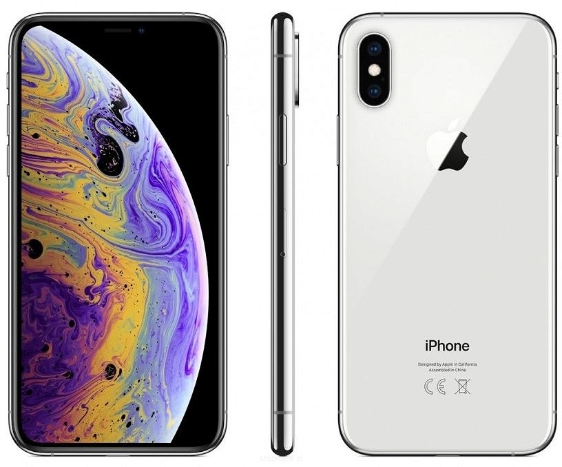 Apple iPhone Xs 256GB Srebrny 5.8